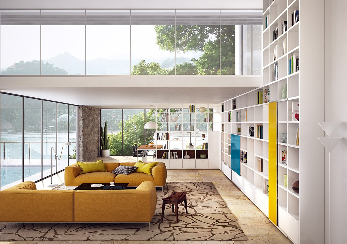 Mustard Yellow Sofa Interior Design Ideas