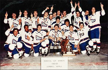 1990-91 Cornwall Royals team, 1990-91 Cornwall Royals team