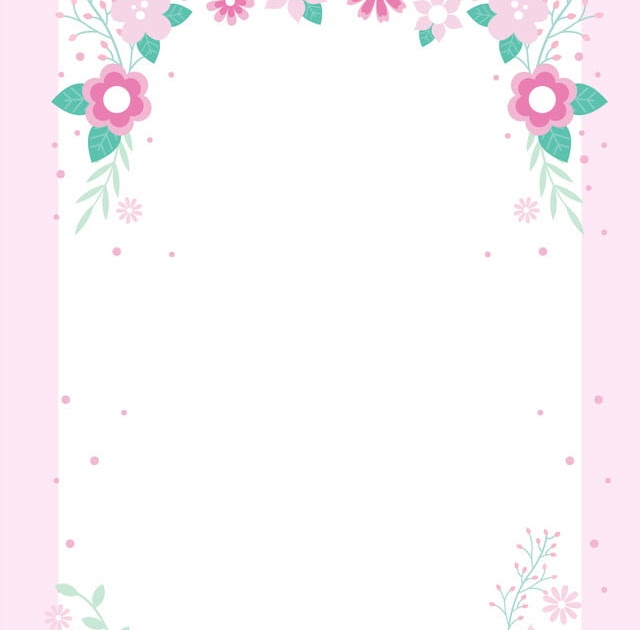 10+ Ide Simple Pink Baby Background Design - Bingkai ...