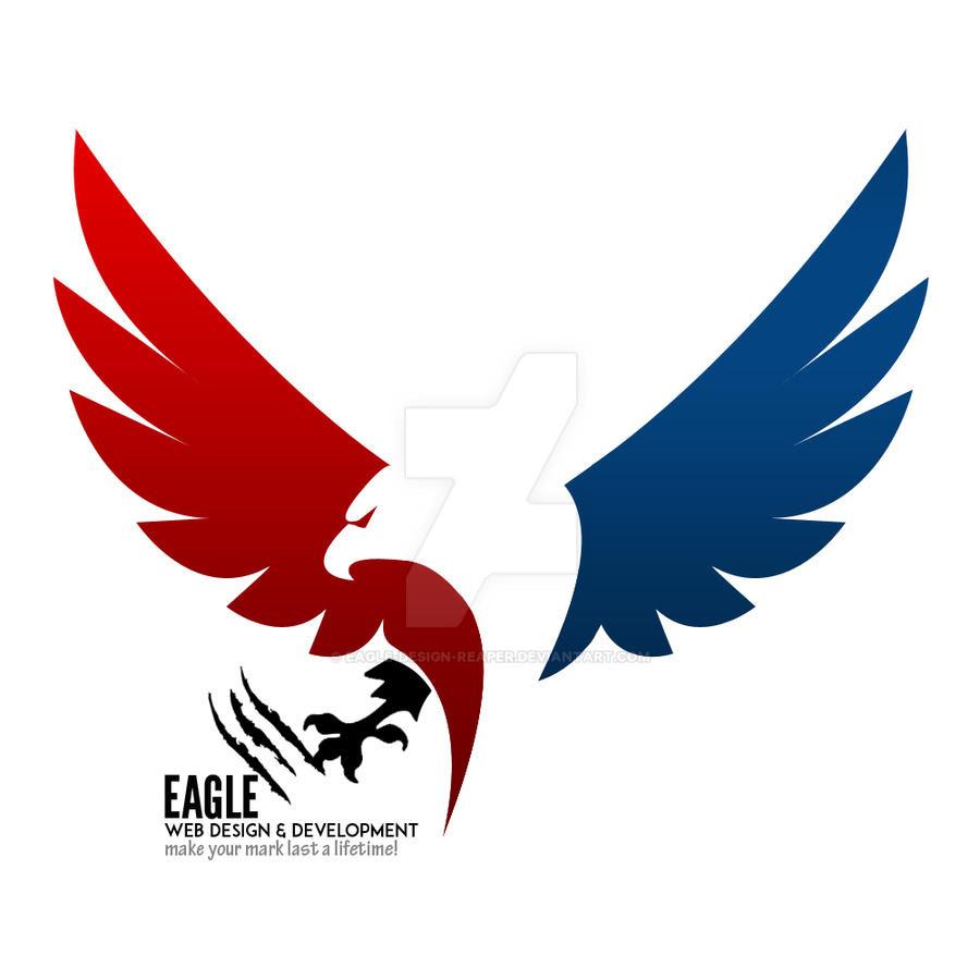 30 Ultra Powerful Designs of Eagle Logo | Naldz Graphics