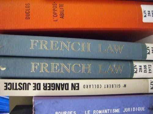 """French Law""; ""En Danger De Justice"""