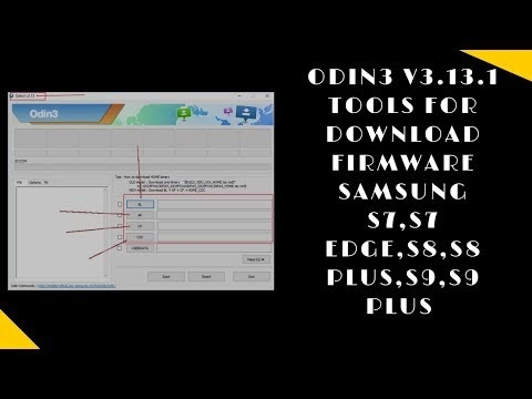 Odin3 v3.13.1 Tools For Download Firmware Samsung S7,S7 EDGE,S8,S8 Plus,...