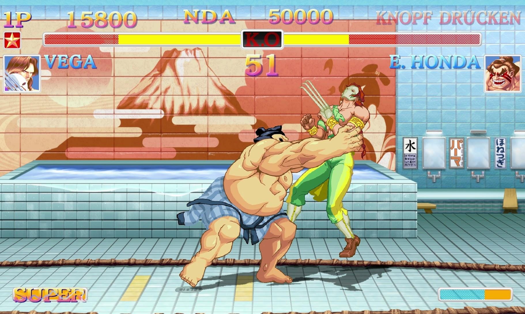Nintendo Download: Ultra Street Fighter II: The Final Challengers screenshot