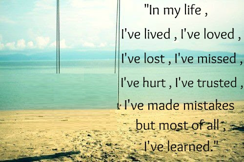 Quotes About I Live My Life 465 Quotes