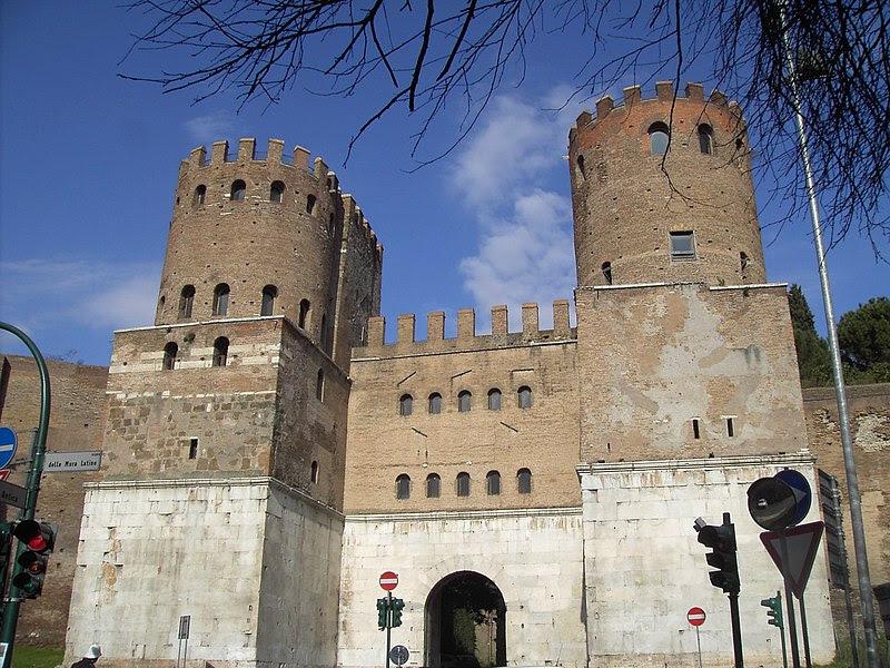 Fichier:Celio - Porta san Sebastiano 1973.JPG