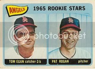 #486 Angels Rookie Stars: Tom Egan and Pat Rogan