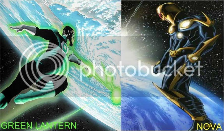 Breaking the Panels: Issue #4: Nova vs Green Lantern