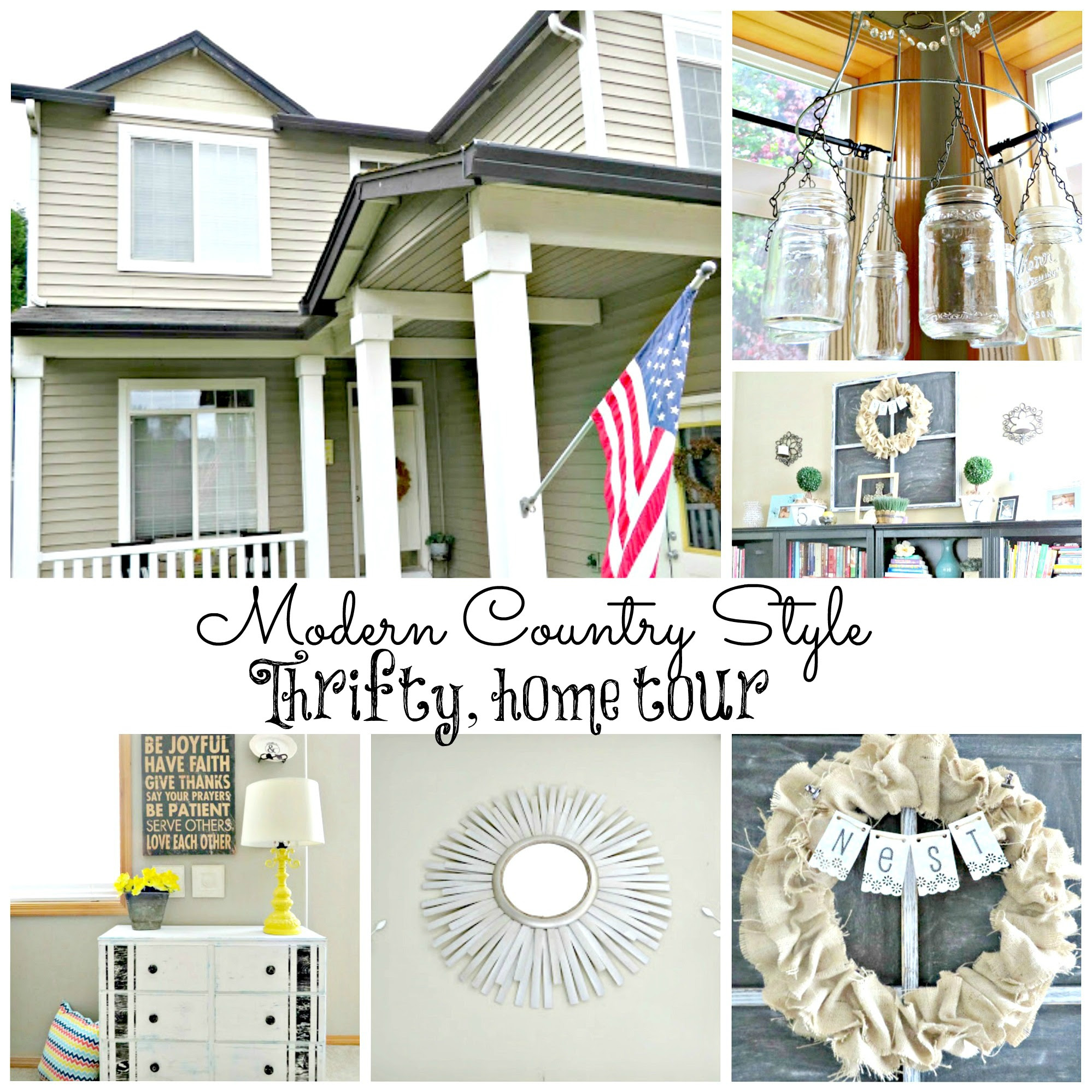 Do It Yourself Home Decorating Ideas: Do It Yourself Country Home Decor