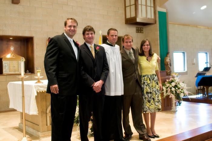 Jake, Luke, Kirk, Zeb and Chrystal