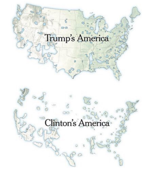 Colégio Eleitoral - Hillary x Trump
