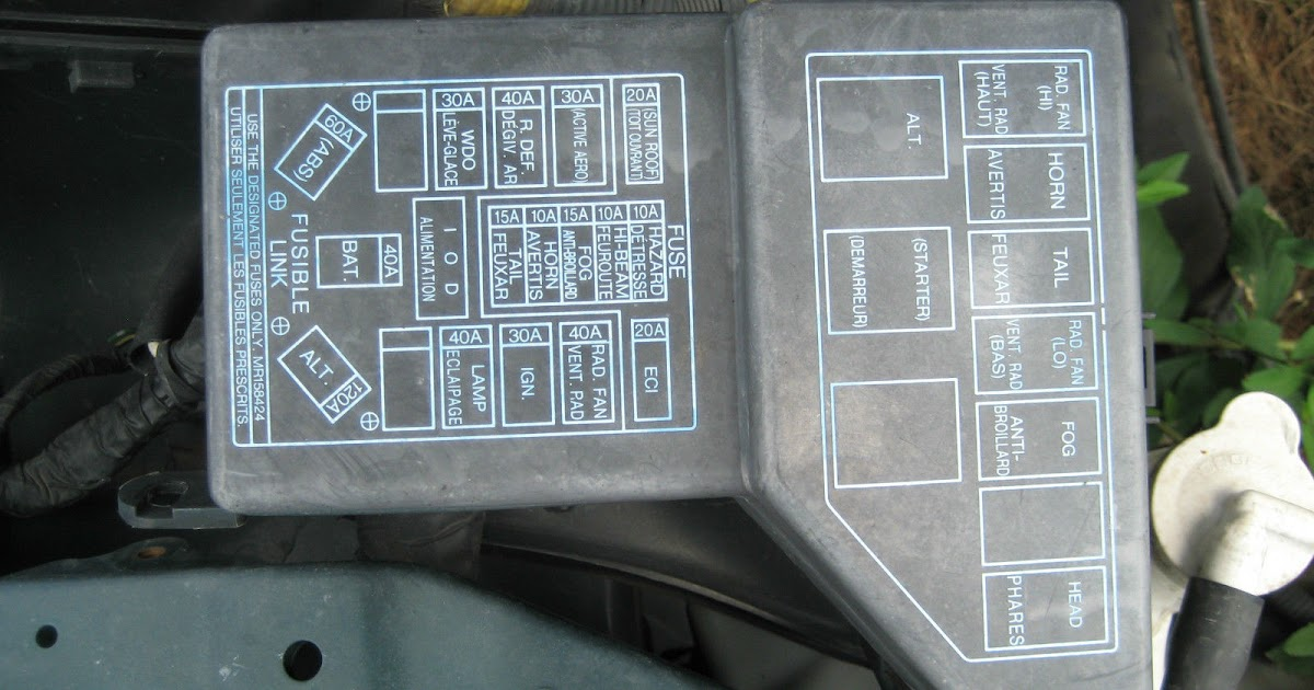 1994 Mitsubishi 3000gt Fuse Box - All of Wiring Diagram