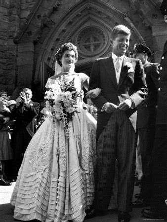 Jackie O and John F. Kennedy Celebrity Wedding Pictures