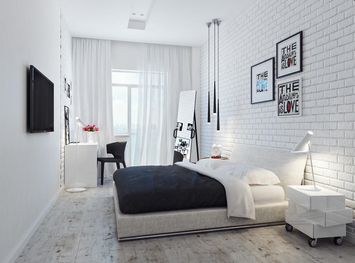   small-white-bedroomInterior Design Ideas.