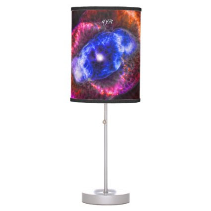 Monogram Cats Eye Nebula, Eye of God outer space Lamps