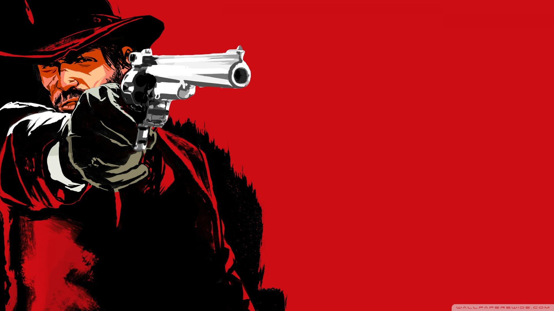 Red Dead Redemption Marston Ultra Hd Desktop Background Wallpaper