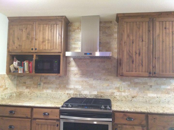 Brick Mosaic Kitchen Backsplash N Koehn Tile El Campo Tx