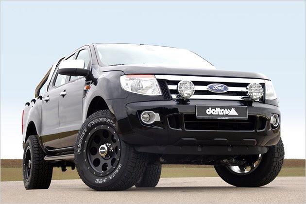 Tuning Ford Ranger: Delta 4x4 mit hauseigenen Felgen ...
