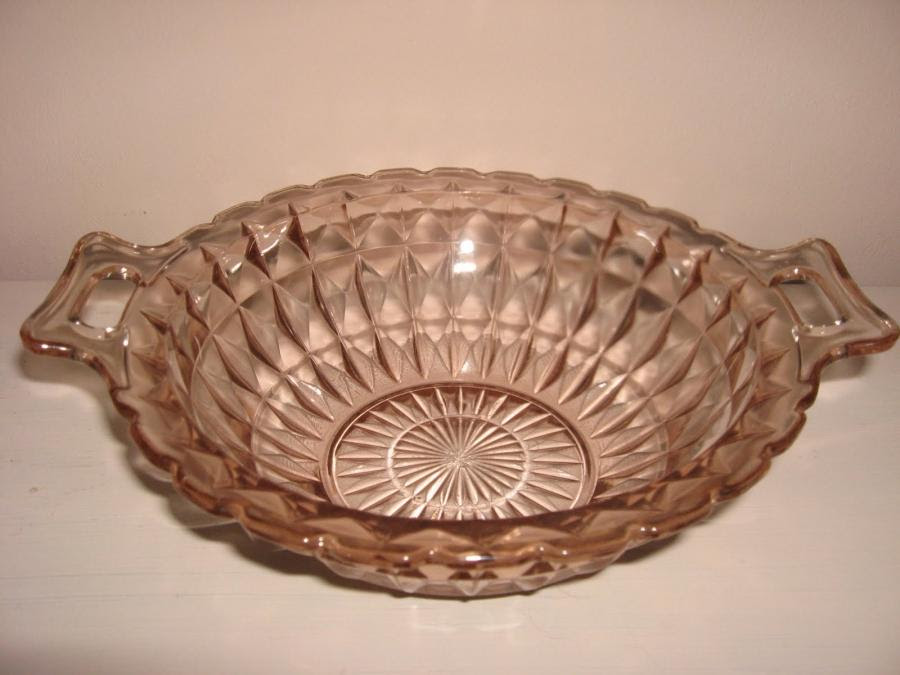 Photos of depression glass patterns