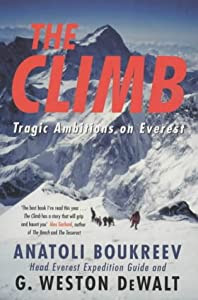"""Cover of """"The Climb: Tragic Ambitions on ..."""