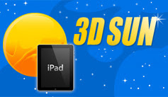 3D Sun for iPad