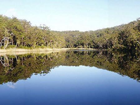 bồn tắm của Chúa, hồ nước, Australia