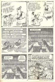 Tavole di Enzo Lunari e Robert Sikoryak