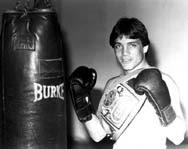 Louie Burke 1983 ESPN Lightweight Champion