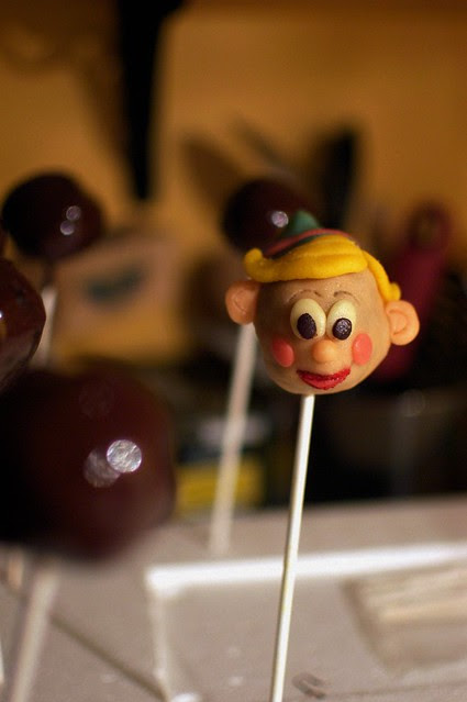 Hermie cake pops