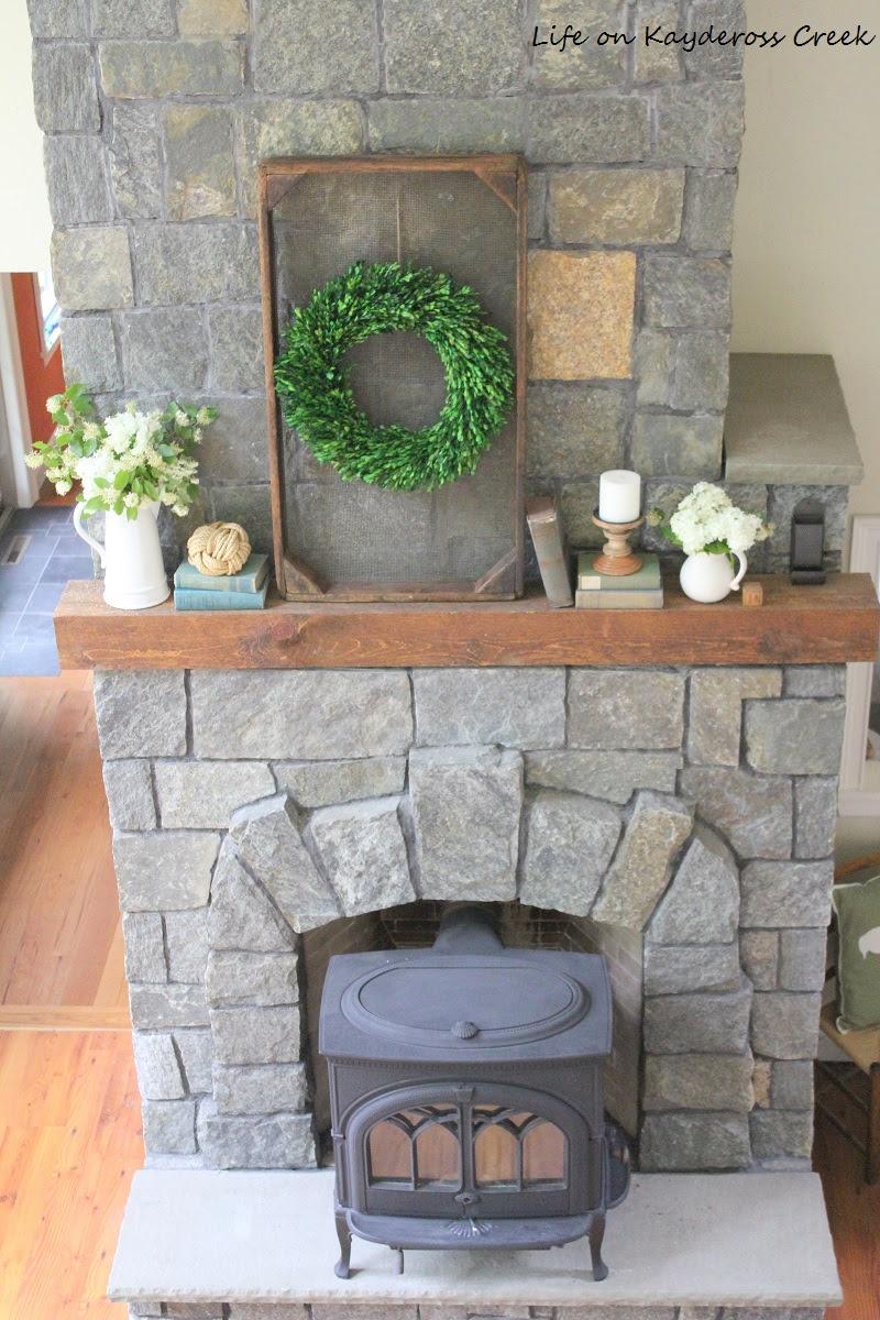 Fireplace - Life on Kaydeross Creek