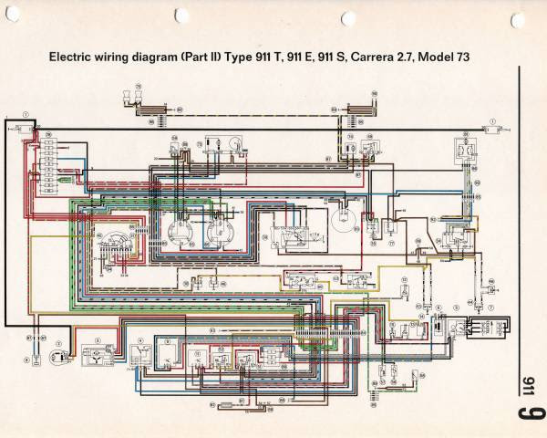 Diagram Porsche Wiring Diagram 911 1973 Full Version Hd Quality 911 1973 Schematictv2h Romaindanza It