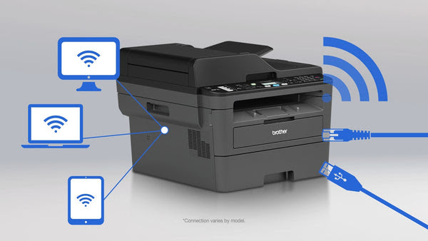 Brother Mfc L2710dw Laser Multifunction Printer Copierfaxprinters
