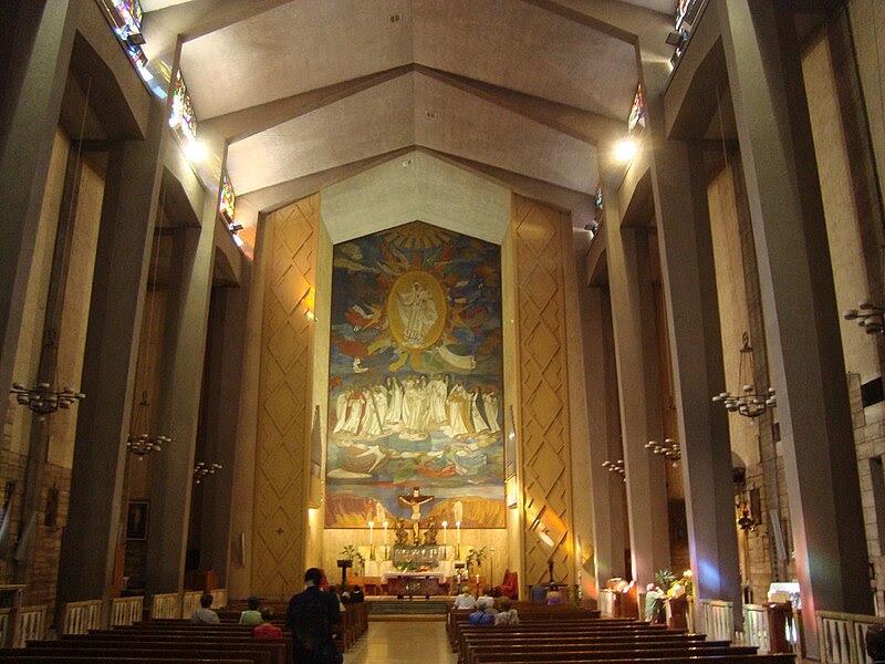 Fil: Intérieur Église Santa Maria della Mercede e Sant'Adriano JPG.