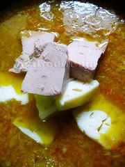 el foie micuit y el queso