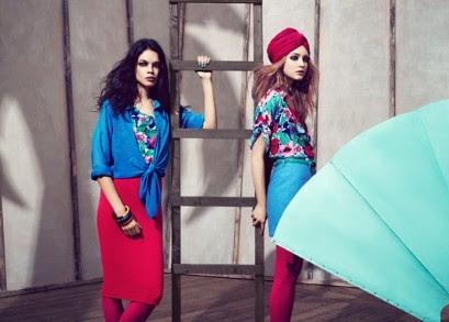Monki spring/summer 2012 campaign