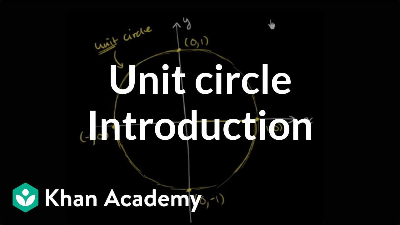 Introduction to the unit circle | Trigonometry | Khan Academy ...