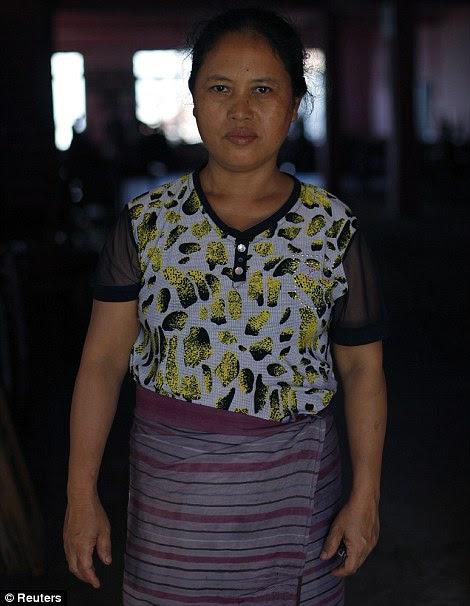 Malsawmi, 48 anos, a décima esposa de Ziona