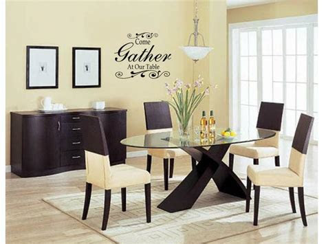 gather   table wall art decal decor kitchen