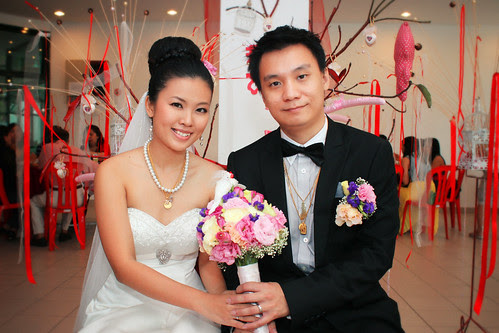 Sandy ~ Wedding Day