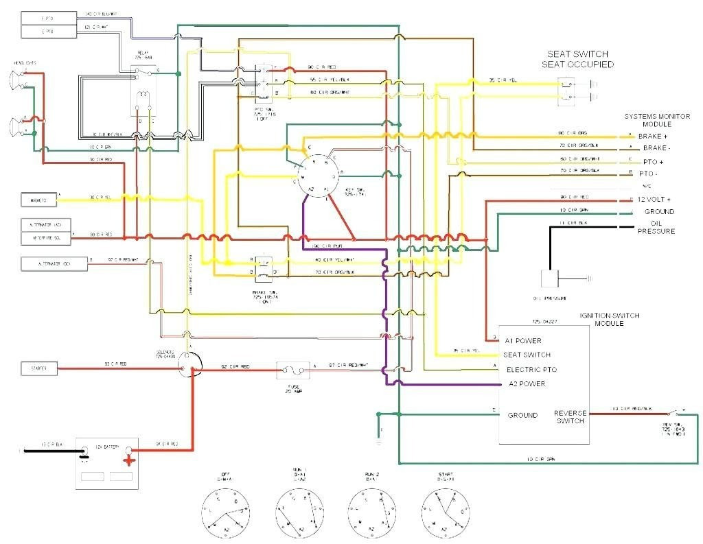 34 Cub Cadet Ignition Switch Diagram