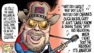 Hank Williams Jr. hates Barack Obama and the new USA