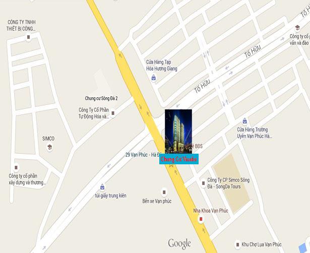 Vị trí chung cư Vinafor Plaza