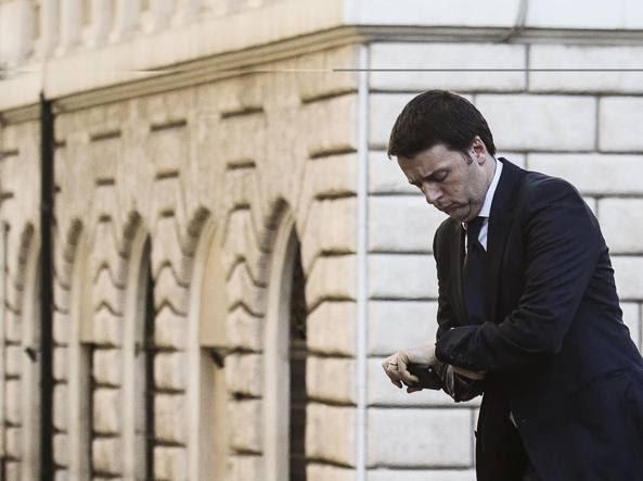 L'ex presidente del Consiglio Matteo Renzi (Ansa/Carconi)