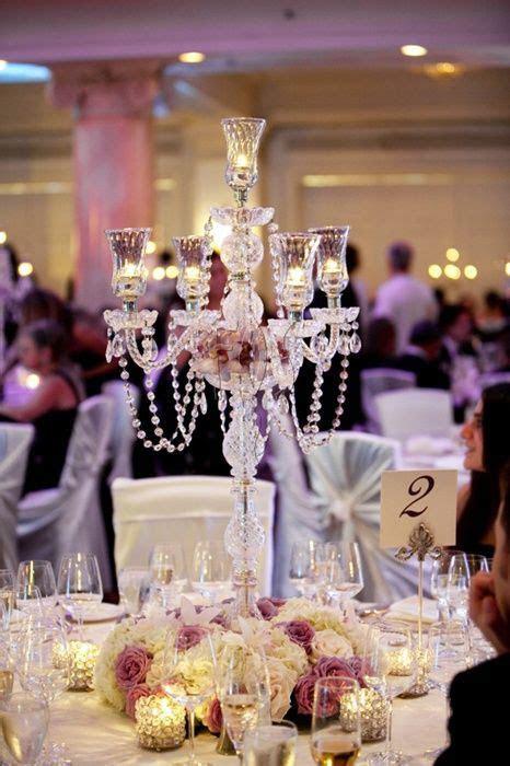 chandelier centerpiece   Wedding   Pinterest   Chandelier