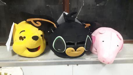 Le maschere dei cartoni animati © Ansa