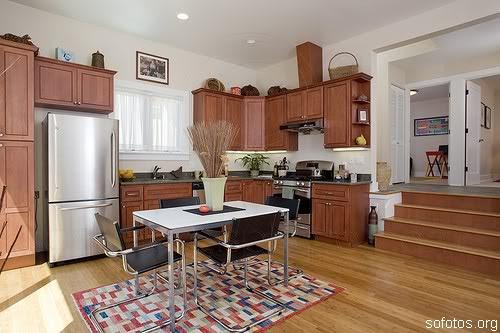 Cozinhas decoradas e planejadas