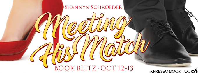Book Blitz: Meeting His Match   Shanny Schroeder