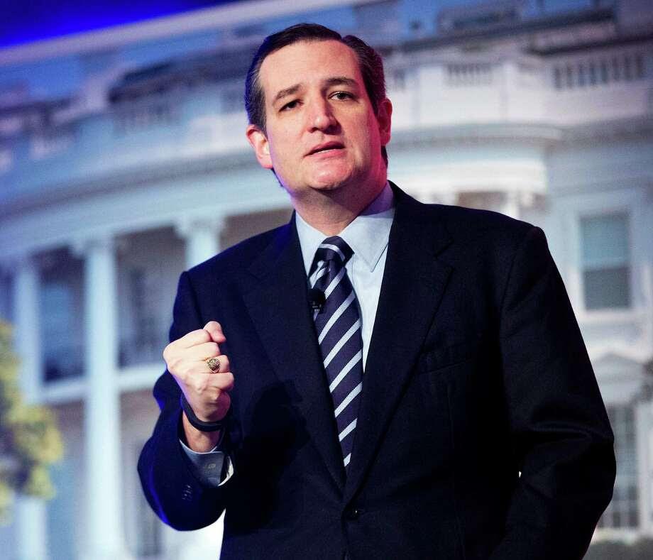 Sen. Ted Cruz is ready to run. Photo: Pablo Martinez Monsivais, STF / AP
