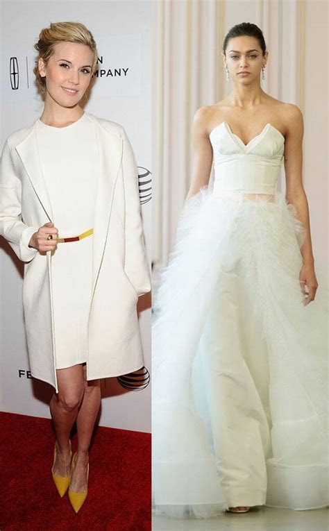 Maggie Grace from Celeb Wedding Dress Predictions   E! News