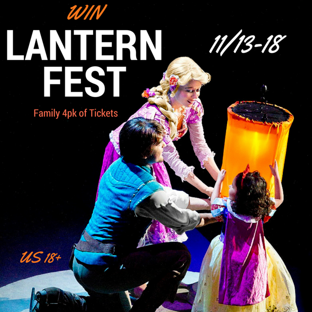 Win Lantern Fest Tickets for Fayetteville NC Nov 21st. US 18+. Ends 11-18-15.