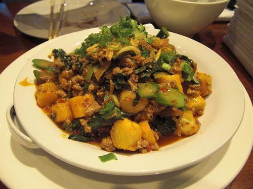 Rice Cake with Chinese sausage